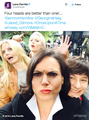 Lana's Tweet