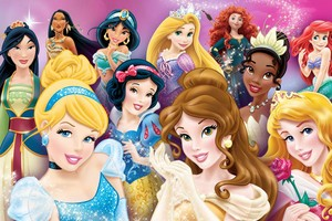 Latest Disney Princess Group picture
