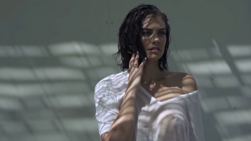 Pity, that Lauren cohan naked photo shoot very