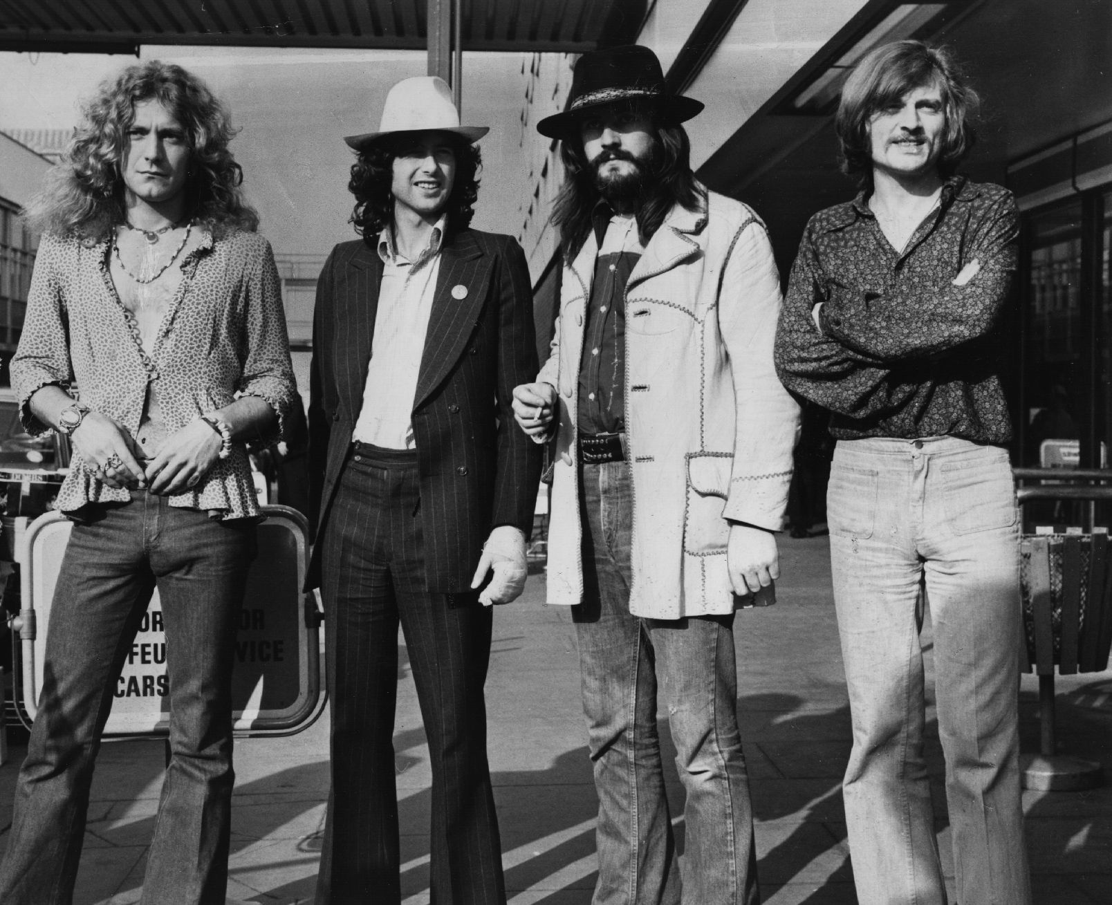 led zeppelin the british rock band