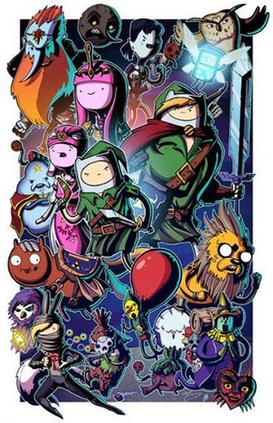 Legend of Zelda Adventure Time