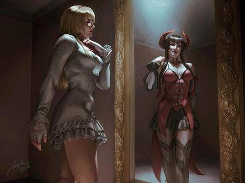 Tekken wallpaper titled Lili/Eliza