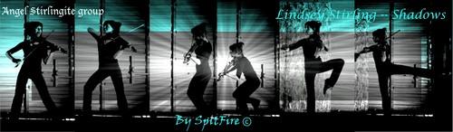 Lindsey Stirling wallpaper entitled Lindsey Stirling shadows