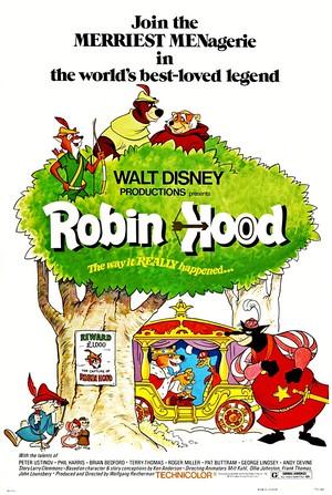 Walt disney Posters - Robin kap, hood