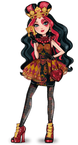 ever after high fondo de pantalla titled Lizzie Hearts