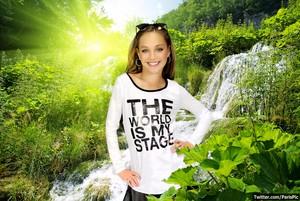 Maddie Ziegler Model Nature éditer fond d'écran (@ParisPic)