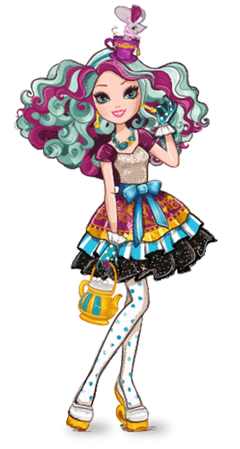 Ever After High wallpaper called Madeline Hatter