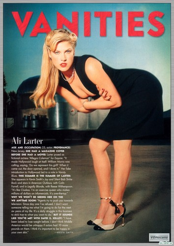 Ali Larter wallpaper titled Magazine Scans