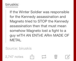 Magneto vs. Winter Soldier