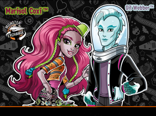 monster high larawan marisol and gil image wolpeyper and background