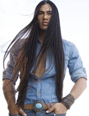 Martin Sensmeier, Model