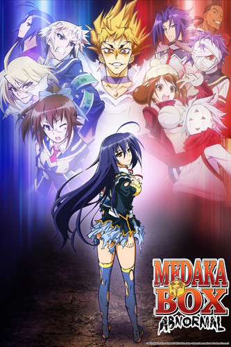 Medaka Kurokami wolpeyper with anime entitled Medaka Box Abnormal