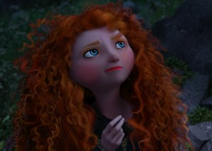 Merida's sliced look