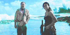 Michelle as Ana Lucia Cortez in lost