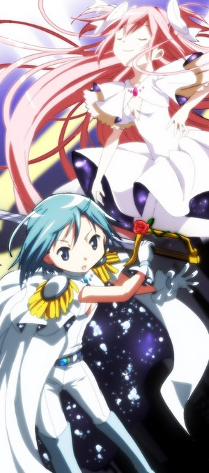 Miki Sayaka and Ultimate Madoka | Puella Magi Madoka Magica