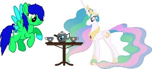 Mine and Aqua's Tea party