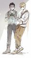 Minho and Newt