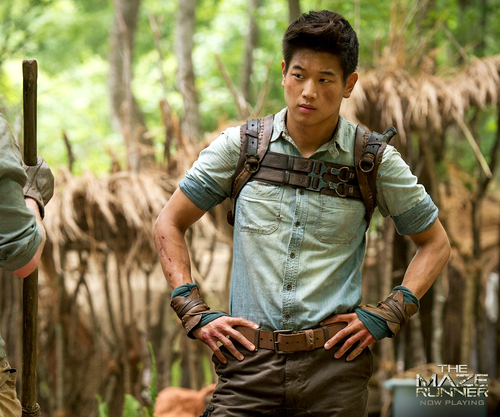 The Maze Runner kertas dinding probably with a hip boot titled Minho