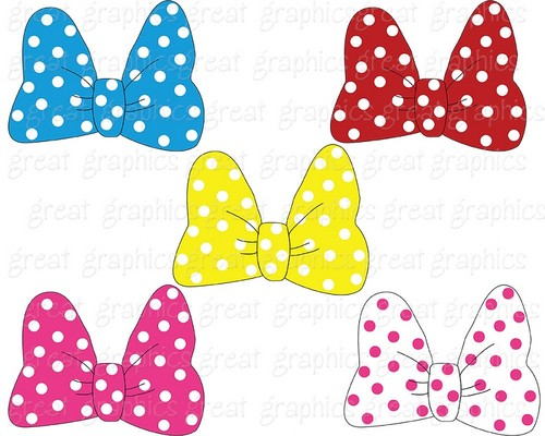 Mickey And Friends Wallpaper Titled Minnie Mouse Bows