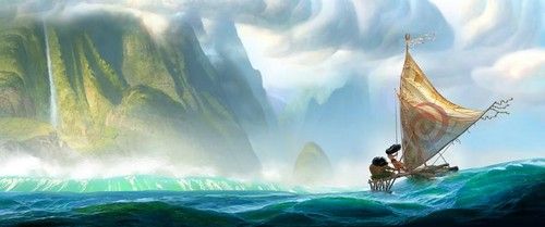 princesas de disney fondo de pantalla possibly containing a fuente entitled Moana First Look