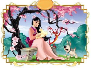 Mulan reading