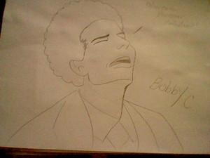 My Bobby C drawing