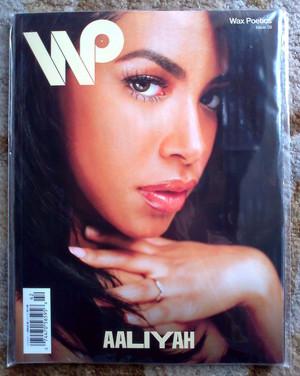 My Wax Poetics with Aaliyah - feeling so happy! ♥