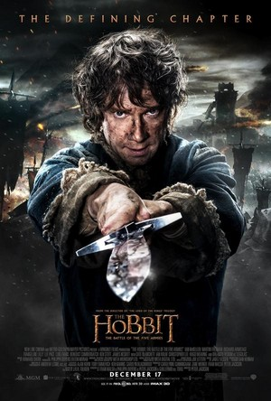 The Hobbit: The Battle Of The Five Armies - Bilbo and Sting Poster