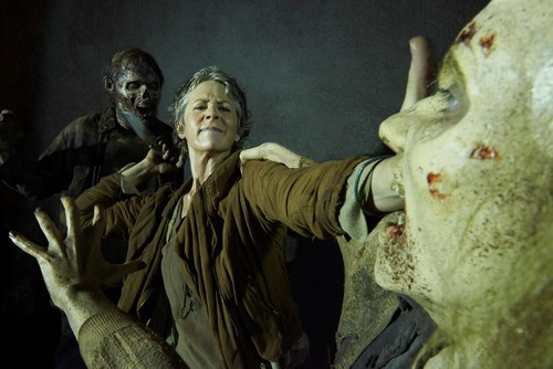 The Walking Dead wallpaper probably with a sign and a street called New Character Promo ~ Carol Peletier
