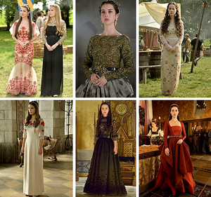 New Reign costumes season 2