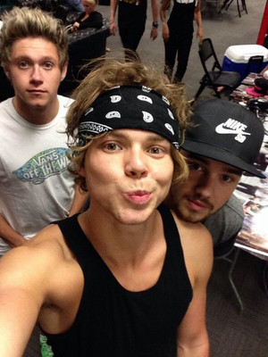 Niall, Ashton and Liam