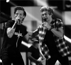 Niall and Louis