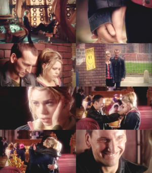 Ninth Doctor and Rose Tyler