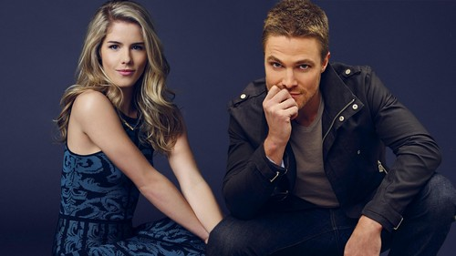 Oliver & Felicity Hintergrund entitled Oliver and Felicity