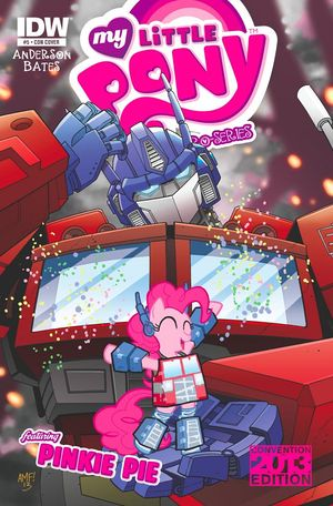 Optimus Prime and Pinkie Pie