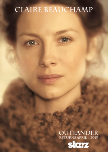 outlander série de televisão 2014 wallpaper probably with a pele, peles casaco and a portrait titled Outlander - Character Poster