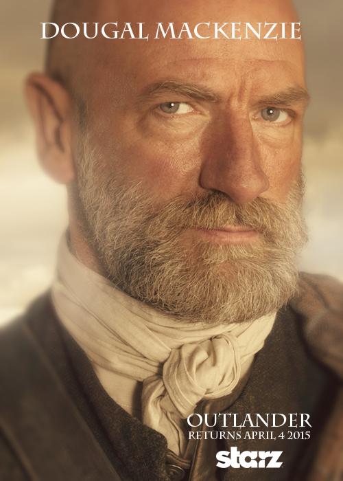 Outlander - Character Poster - Outlander 2014 TV Series ...