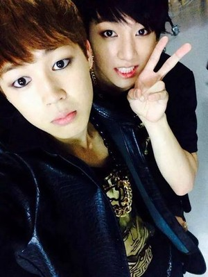 Park Jimin and Jungkook