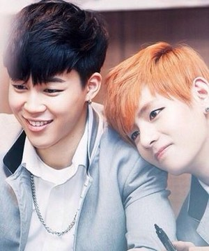 Park Jimin and Kim Taehyung