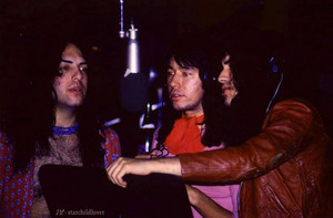 Paul Stanley, Ace Frehley, and Gene Simmons