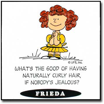 Frieda Peanuts Naturally Curly Hair