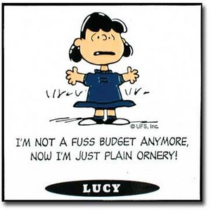 Peanuts Quotes - Lucy