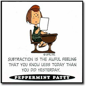 Peanuts Zitate - Peppermint Patty