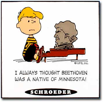 Peanuts Quotes - Schroeder