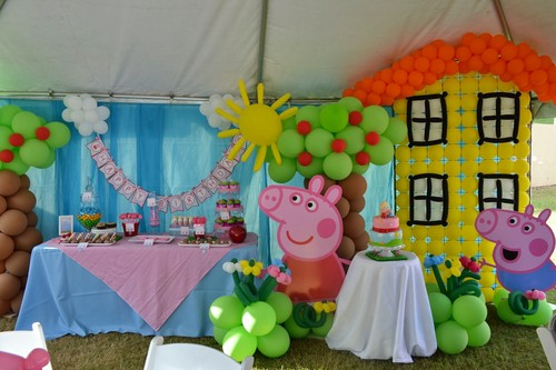 angeli wallpaper titled Peppa pig party