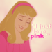 Pink is Aurora's color! - sleeping-beauty icon