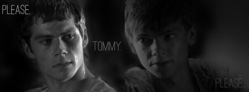 The Maze Runner wolpeyper titled Please Tommy