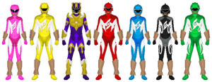 Power Rangers Aqua Surge