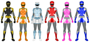 Power Rangers Chevalier