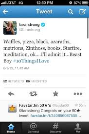 Proof that Tara is a BBRae Shipper